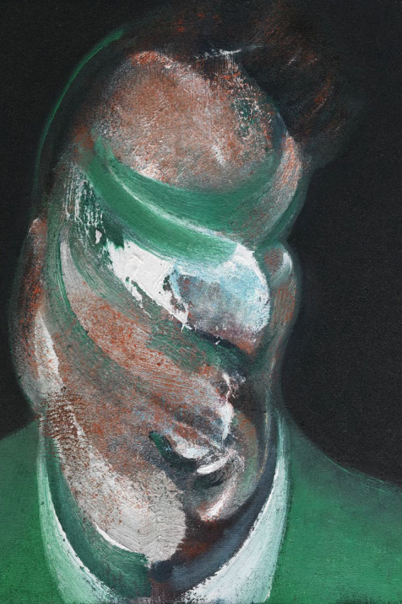 Neustrašivo oko - Francis Bacon - Study for Head of Lucian Freud (1967), oil on canvas