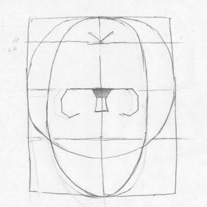neustrasivo-oko-en-face-lubanja-s-orbitama