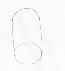 neustrašivo oko-cilindar odozdola