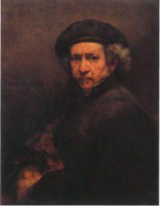 rembrandt autoportret čitav