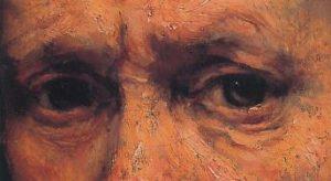 neustrašivo oko-rembrandt očne duplje