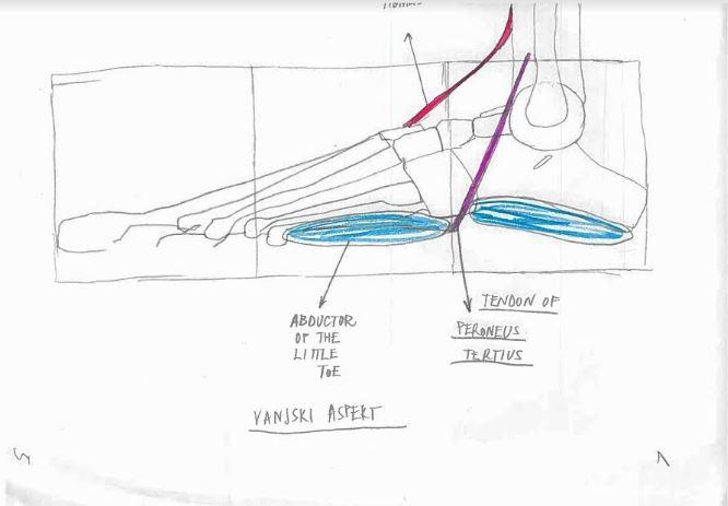 Kako nacrtati stopalo (sedmi dio)